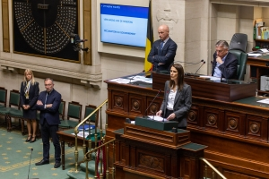 Government's general policy speech - Prime Minister Sophie Wilmès
