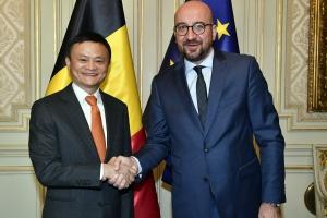 Premierminister Charles Michel trifft Herrn Jack Ma, Vorstandsvorsitzenden der Alibaba Group