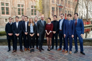 "Speech over ""The Future of Europe"" given at the College of Europe, Bruges campus."