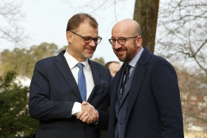 Meeting with the Prime Minister of Finland Juha Sipilä