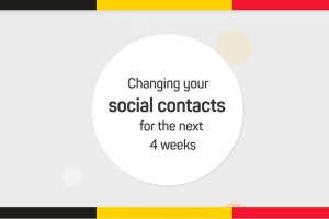 Changing your social contacts for the next 4 weeks