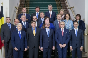 Eedaflegging van de nieuwe federale regering