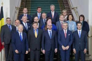 Prestation de serment du nouveau gouvernement