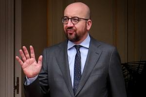 Onderhoud met de eerste minister van Albanië, Edi Rama