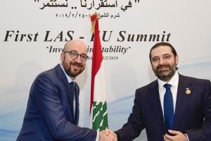 Gipfeltreffen der EU und der Liga der Arabischen Staaten in Sharm El-Sheikh (Ägypten)