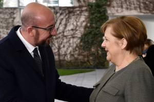 Trip to Berlin and meeting with Federal Chancellor Angela Merkel