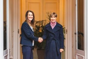 Visite de la Présidente d'Estonie, Kersti Kaljulaid - 03