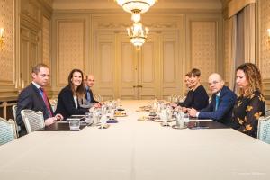 Visite de la Présidente d'Estonie, Kersti Kaljulaid