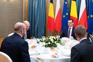 Meeting with Polish Prime Minister Mateusz Morawiecki
